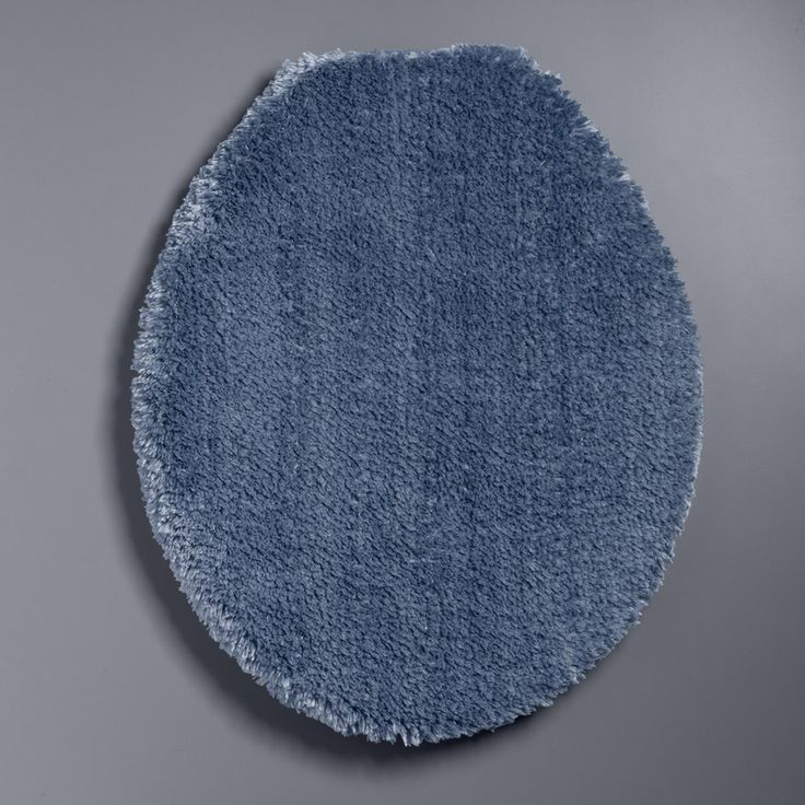 Simply Vera Vera Wang The Premium Luxury Solid Toilet Lid Cover, Blue Other