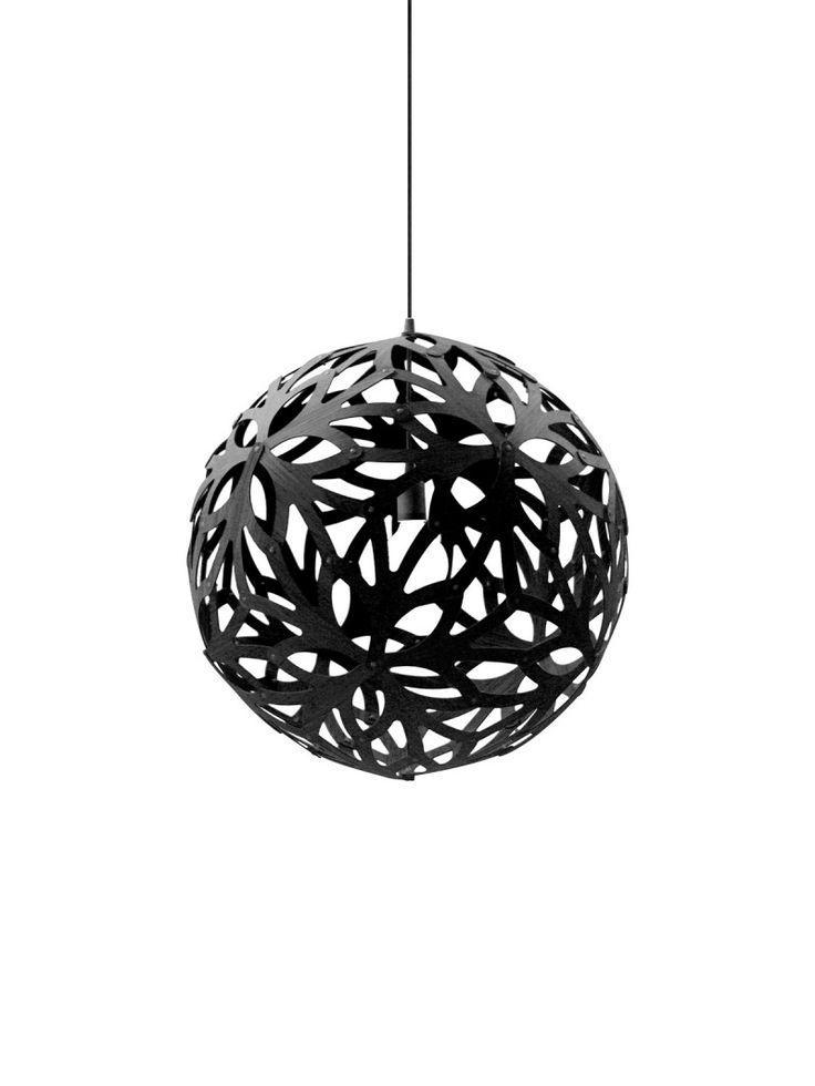 DAVID TRUBRIDGE Floral #lamp #leuchte #schwarz #black #design