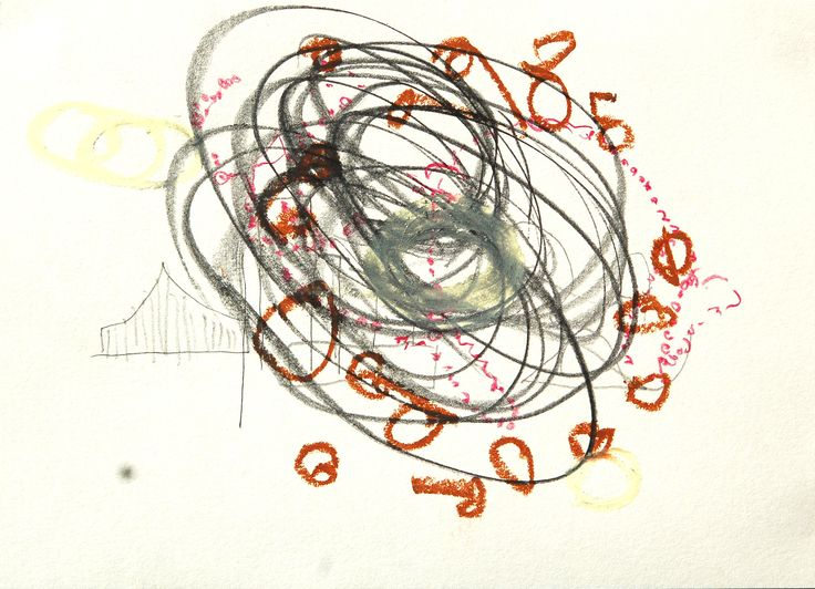 Jenny MIKESELL -- mixed media drawing 2014