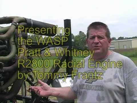 The WASP Pratt & Whitney R2800 Radial Engine. - YouTube