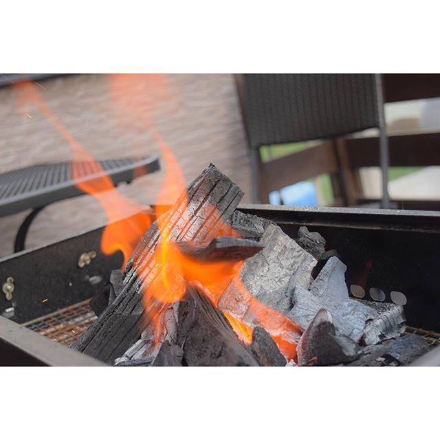 * 今年1発目のBBQ( ˊᵕˋ ) * * #BBQ #炭 #炎 #焼き鳥 #パーティー #Charcoal #fire #party #barbecue #肉 # # # # # #火起こし #nikon #d5500 #ニコン党 #カメラ好きな人と繋がりたい #写真好きな人と繋がりたい #ファインダー越しの私の世界 #nagano #japan