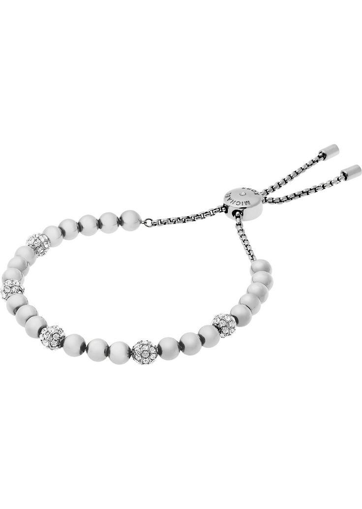 MICHAEL KORS - Brilliance silver-toned bracelet | Selfridges.com Sale! Up to 75% OFF! Shot at Stylizio for women's and men's designer handbags, luxury sunglasses, watches, jewelry, purses, wallets, clothes, underwear