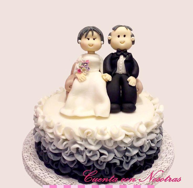 Torta de Bodas Torta de Novios Wedding Cake