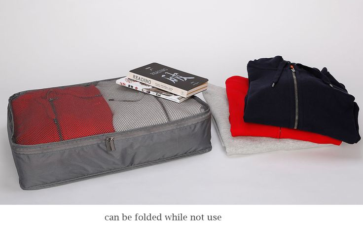 Xiaomi Portable Water Resistant Storage Bag with Visible Mesh Side for Holding Clothes