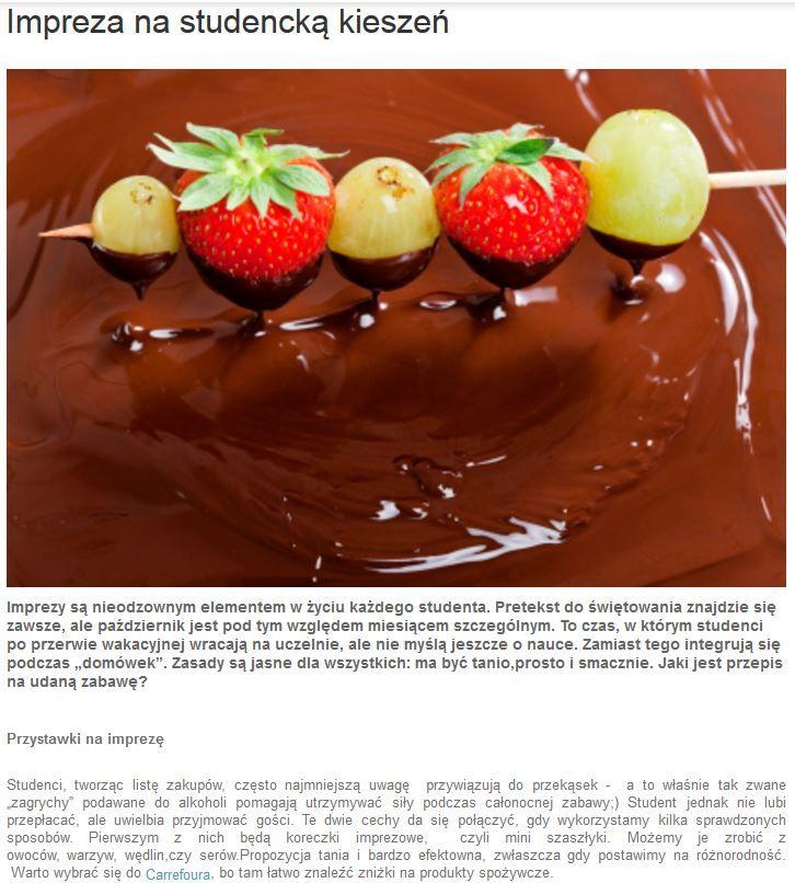 Przepis na udaną studencką zabawę już dziś na blogu Promocyjnych. Korzystajcie, smacznego i udanej imprezy! http://www.promocyjni.pl/blog/zobacz/7085-impreza-na-studencka-kieszen