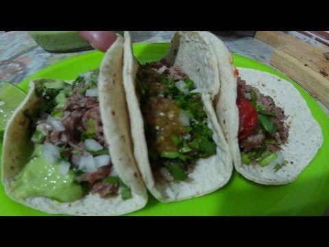 Como hacer Tacos de Suadero Los originales - YouTube