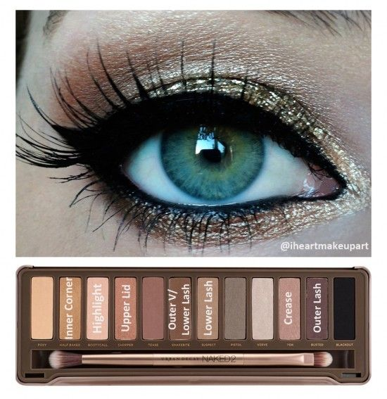 Naked Palette. Mine isn't quite the same, but this gives me a good idea on how to use it!