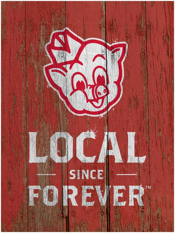 Piggly Wiggly Ceiling Signs by Chris Edington, via Behance