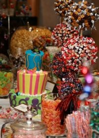 Candy Buffet with Cake
