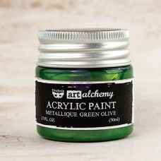 Prima - Art Alchemy - Metallique - Green Olive