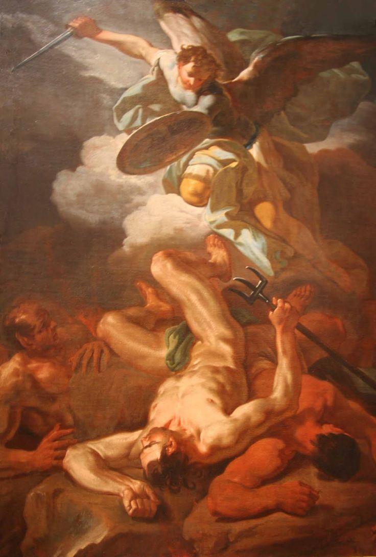 Angel Of Light Satan   Michael Archangel   Paintings ...