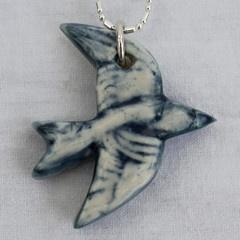 Iggy & Lou Lou Bluebird Charm Necklace