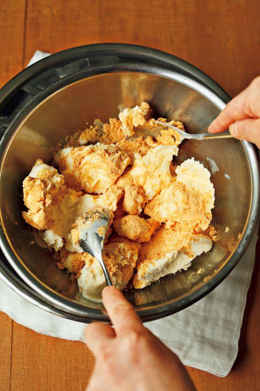 あの話題の「もちアイス」を手作り! とろーり冷たい新食感を、おうちで手軽に再現できるレシピをご紹介♪