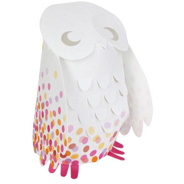 Owl Baby Gifts Australia : Pink confetti owl kids lamp bellas little ones buy ergo