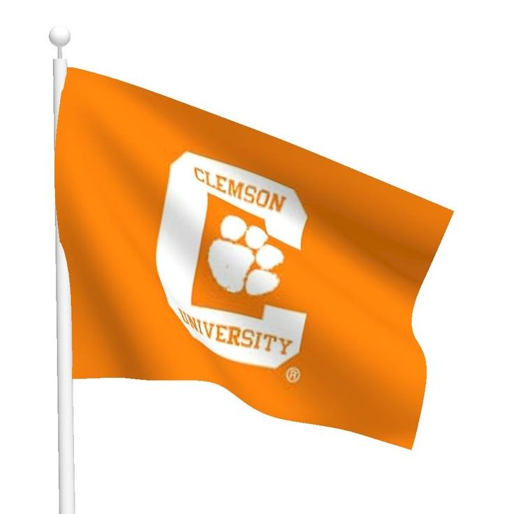 clemson flags
