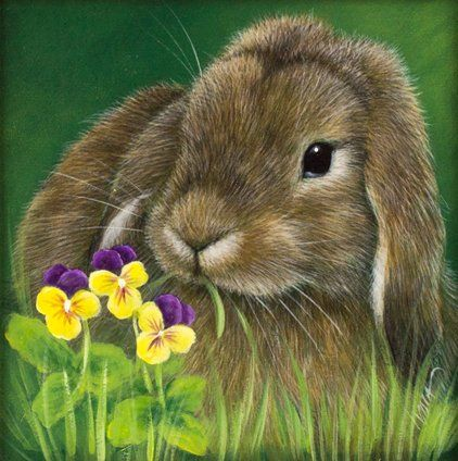 This is just the right time of the year to see bunnies; Easter! This is a FREE project with the pattern, instructions and steps at this link. Thanks to the artist, Lydia Steeves.