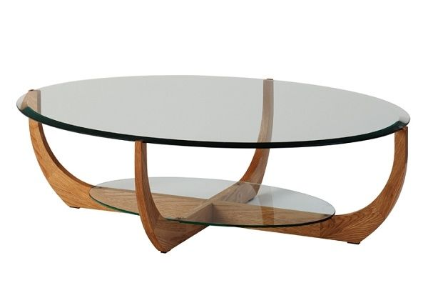 Schon Couchtisch Glas Holz Oval Deutsche Deko Pinterest