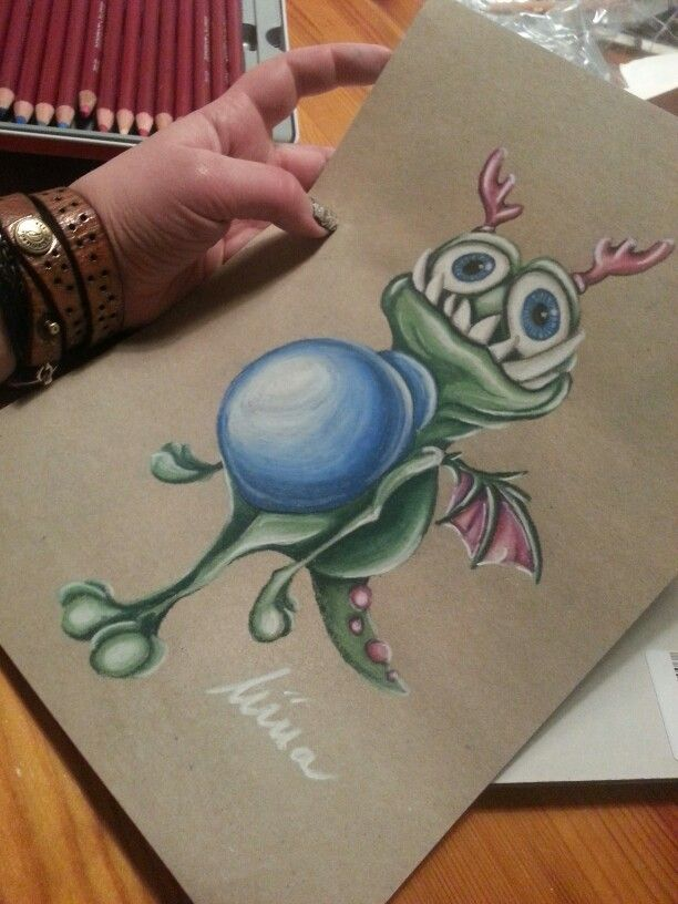 I use coloured pencils when I make my drawings, prismacolors, promarkers, derwent pastell and other. A dream of mine is to become a successfull tattooartist, so I make a lot of tattoo-inspired pictures! Art. Colour. Drawing. Sketch.