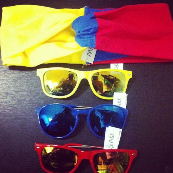 Apoyo a nuestra selección  #yocreo #amarillo #azul #rojo #colombia #colors #chic #girl #gafas #seleccioncolombia #todoparatimiseleccion #lepetitfashion