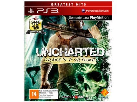 Jogo Uncharted Drakes Fortune p/ PS3 com as melhores condições você encontra no site do Magazine Luiza. Confira!