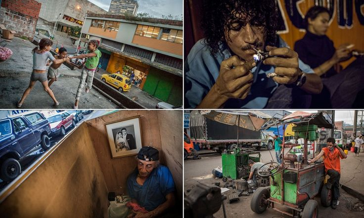 Pictures: Life on the tough streets of Pablo Escobar's hometown