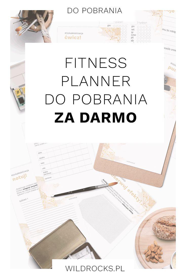 Pobierz darmowy fitness planner który pomoże Ci osiągnąć sukces i wypracować…