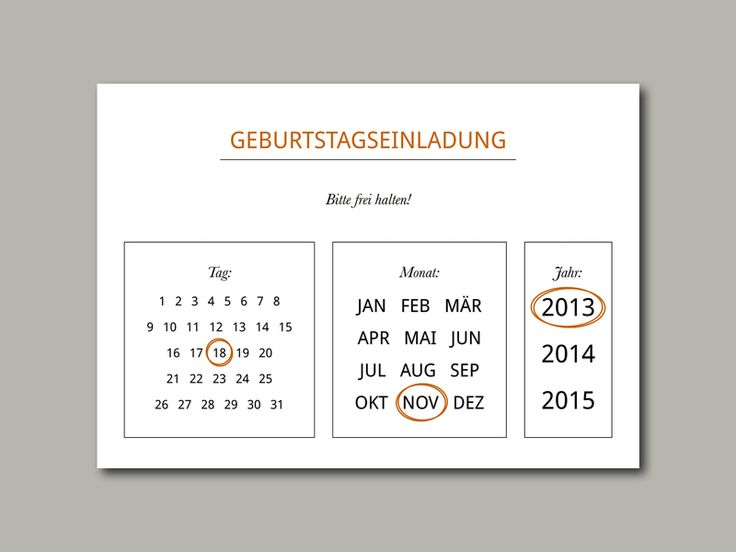 22 best images about einladung geburtstag on pinterest | texts, Einladung