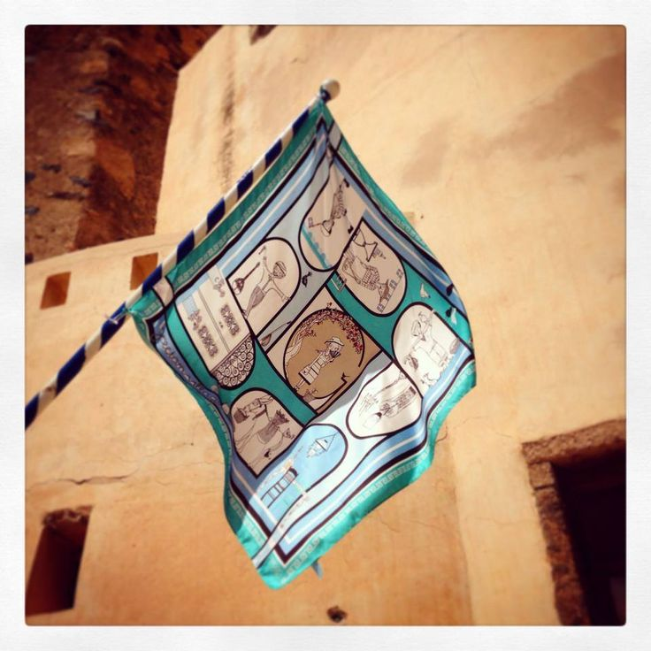 """Grecian Village"" silk scarf by Grecian chic!"