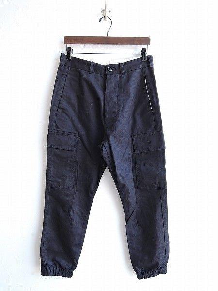 ヴェリテクール Veritecoeur COPAINS 裾絞りコットンカーゴパンツ