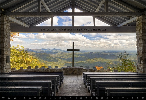 Pretty Place Chapel at the YMCA camp near Greenville, SC