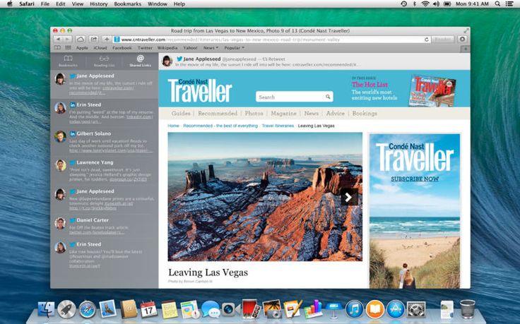 El nuevo sistema operativo OS X Mavericks ya puede ser descargado sin costo en App Store.