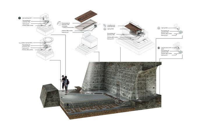 Galería de Este es el diseño de Colectivo720 + De Arquitectura y Paisaje que iluminará castillo en Cartagena - 31