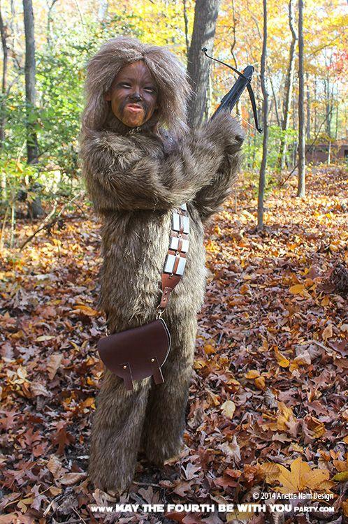 GAAAAAAAAAAAAAHHH! (DIY Chewbacca Costume) | May the Fourth be with You Party