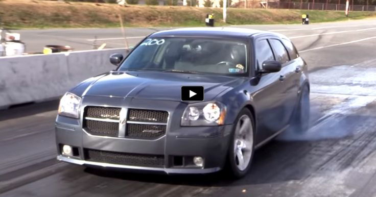 10-second DODGE MAGNUM SRT8 WAGON | DRAG RACING