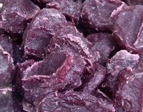 Doce de batata roxa