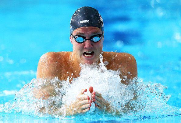 Andrew WILLIS [Bronze], [Men's 200m Breaststroke] England