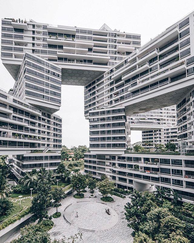 The Interlace Architects OMA , Ole Scheeren Singapore 2013 : @sh3ngy
