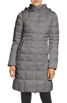Free shipping and returns on The North Face 'Metropolis II' Hooded Water Resistant Down Parka at Nordstrom.com. Lofty 550-fill goose down insulates a long quilted parka that snaps and zips from the neck to the knees to surround you with cozy warmth. A water-repellent finish helps shrug off wet weather to keep you warm and dry, and new targeted quilting through the waist ensures a flattering, feminine fit.