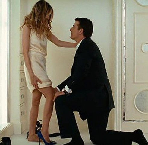 The 11 most iconic shoe moments in film history: Big's Manolo Blahnik marriage proposal to Carrie Bradshaw.