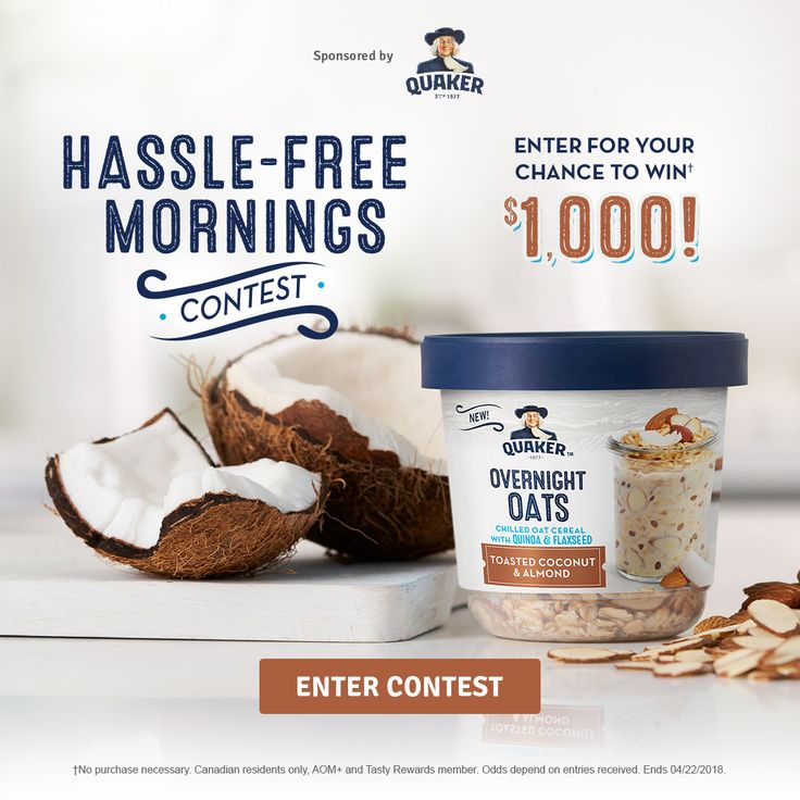 QUAKER® HASSLE-FREE MORNINGS CONTEST