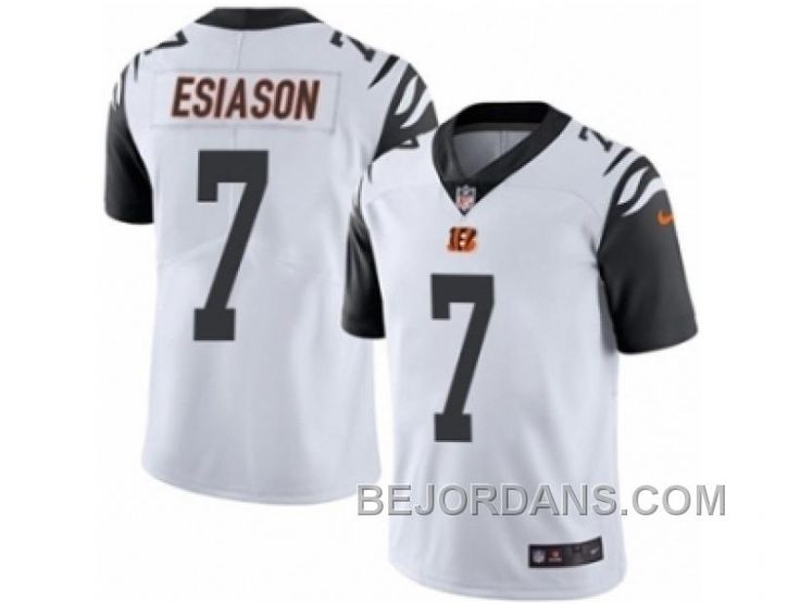 http://www.bejordans.com/free-shipping-60-off-mens-nike-cincinnati-bengals-7-boomer-esiason-limited-white-rush-nfl-jersey.html FREE SHIPPING ! 60% OFF! MEN'S NIKE CINCINNATI BENGALS #7 BOOMER ESIASON LIMITED WHITE RUSH NFL JERSEY Only $20.00 , Free Shipping!
