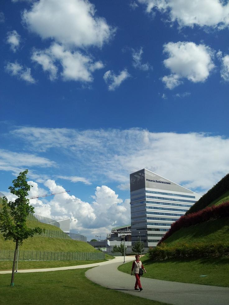 Parco Vittoria, new directional centre and park, Portello, Milano