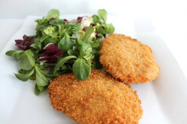 Breaded Pork Loin with Blue Cheese & Iberic Ham
