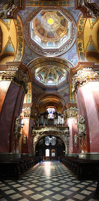 Church of Saint Michael, Olomouc, Czech Republic by  Ludek Sagi Lukac