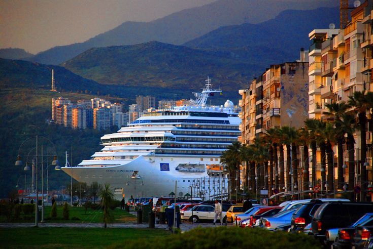 Cruise at Izmir port/ Turkey