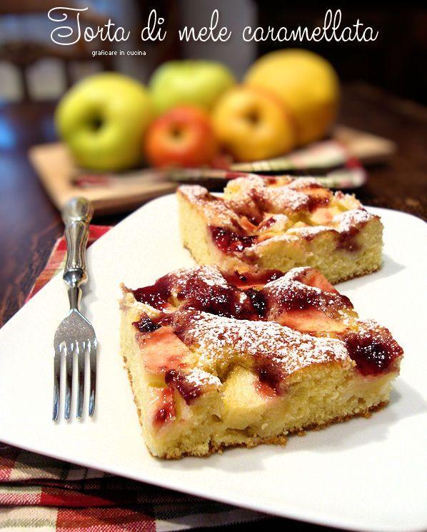 Torta di mele caramellata. Questa torta di mele caramellata la preparo da tantissimi anni, è molto semplice e veloce da fare. Sarà che io e la mia .........