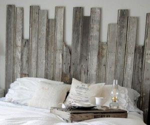 diy rustic home decor | Master Bedroom With DIY Rustic Barn Wood Headboard | Home Decor News