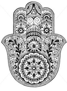 dibujos para pintar de la mano de fatima - Google Search