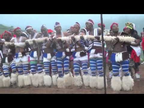 Zulu Dance Competition Winner of 2013 Dududu Area KZN, South Africa