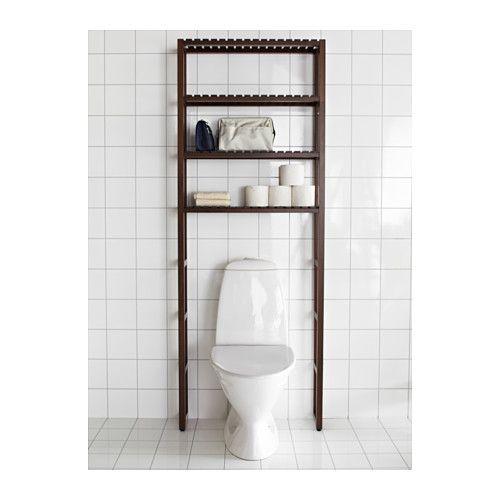 MOLGER Open storage - dark brown - IKEA I have no storage in my bathroom, so this will be necessary in my near future.